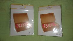 Lot Of 2 Packagesbrown Treat Boxes 9.8 X 5.9 X 2.86 In Each Pack