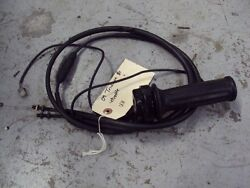 2009 09 Triumph Sprint St 1050 Throttle With Cables Uu