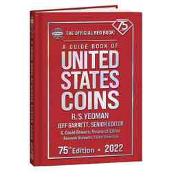 2022 Hard Cover Red Book Of U.s. Coins - Hard Bound - Hard - Now Shipping