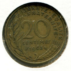 Foreign Coin - France - Twenty Centimes [20-centimes] 1963