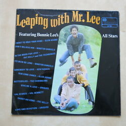Leaping With Mr Lee featuring Bunnie Lee's All Stars UK original vinyl LP Island