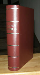 Large Antique C1900 Family Holy Bible Restored Illustrated