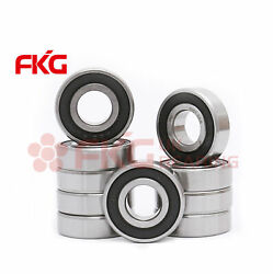 10pcs 6001-2rs Two Side Deep Groove Rubber Seals Ball Bearing 12mm28mm8mm New