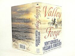 Valley Forge George Washington And The Crucible Of Victory 2 Vg+ 'flat Signed'