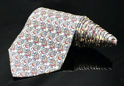 Paolo Silk Luxury Race Horse 🏇 Neck Tie Made In Italy