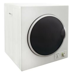 Rv Dryer Compact And Electric 120v 13 Pound Capacity White With Silver Basin