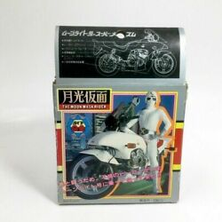 Moonlight Mask Motorcycle Superalloy Toy 1970 Vintage Chogokin Character Toys