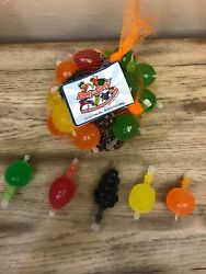 Tik Tok Candy Dely Gely Fruit Jelly Fruit Licious Jelly 5 Count Sampler Ship Now