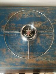 Vintage Buick Horn Ring With Button Original.p/n 1165112 Steering Wheel