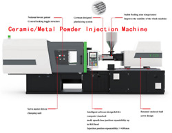 Ceramic & Metal powder injection moulding machine