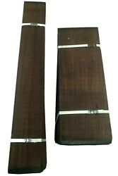 Wholesale Lot Of 10 Guitar Back And Side Dreadnought Rosewood Tonewood Book Match