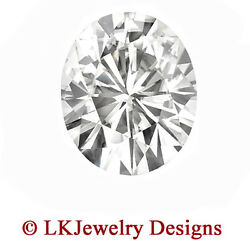 4.20 Ct Moissanite Oval Forever One Ghi - 11.0x9.0mm From Charles And Colvard