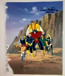 X-men The Animated Series - Deapool - Signed Marvel Animation Production Cel