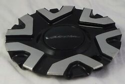 Veloche Wheels Gloss Black / Silver Custom Wheel Center Cap Caps C123102cap