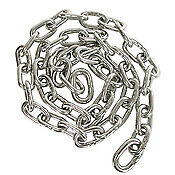 10 Ft 1/4 316 Ss Polished Bbb Chain 4.00 Price Per Foot For Additional Feet