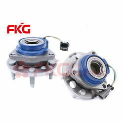 New Front Wheel Hub And Bearing For Buick Chevy Oldsmobile Pontiac W/abs 513087x2