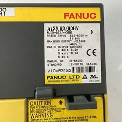 1pcs Used Fanuc A06b-6127-h209 Servo Amplifier Tested In Good Conditionqw