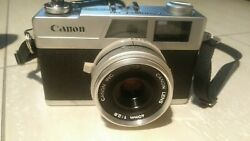 Canon Canonet 28,works But No Tested In Live