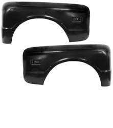 Chevy Chevrolet Pickup Truck Stepside Rear Fender Set Left And Right 1968-1972