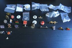 35 Supreme Pin Collection / Lot Ftp Anarchy Gyst Middle Finger Prayer Hand