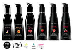 Wicked Flavored Lube Edible Oral Sex Lubricant Personal Choose Size And Flavor
