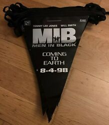 Rare 1998 Mib Men In Black Vhs And Dvd Promo Realease Bunting