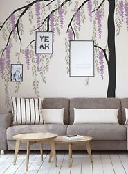 Wisteria Weeping Willow Tree Decal