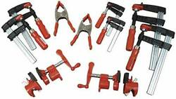 10 Piece General Purpose Woodworking Spring Bar Pipe Clamps Bessey 1 Each