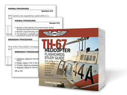 Th-67 Helicopter Flashcards Study Guide Isbn 978-1-61954-034-7 Asa-cards-th67