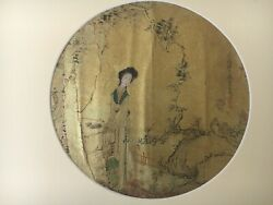 Antique Chinese Painting Qing Dynasty By The Artist Qian Huian Active1833-1911