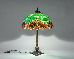 Style Table Lamp Classic Stained Glass Art Bespoke Glass Mosaic Lamp