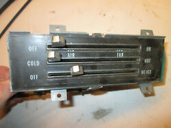 1968 Cherolet Impala Heater Control Assembly Bel Air Biscayne