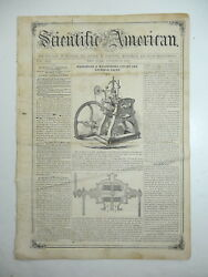 Potato Rot Cause And Cure, Railway Train Car Wheel, Harvester, Antique Articl 1858