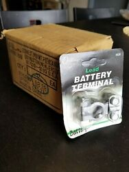 Case Of 12 Lead Battery Terminal Solid Car Truck Top Post Battery Cable