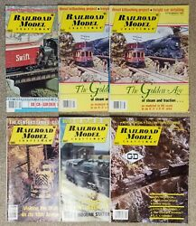 Vintage Railroad Model Craftsman Magazines Lot Of 6 1979-1984 Train Collectible
