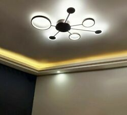 Chandeliers Lights Personality Fashion Led Iron Modern Lighting Bedroom Fixtures