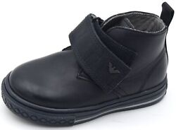 Armani Baby Junior Boy Polish Sneaker Shoes Casual Free Time Leather Code 405307