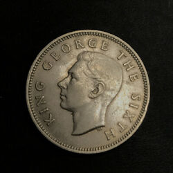 New Zealand 1948 1 One Shilling Coin