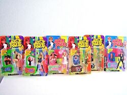 Austin Powers 1990s 2000s Action Figures Dolls Set Of 6 Collectable Rare
