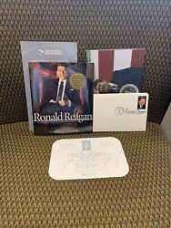 Ronald Reagan Commemorative Stamp Folio First Day Covers