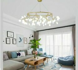 Chandelier Ceiling Led Lights Firefly Pendants Clear Glass Lamps Art Deco Styles