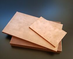 Copper 999 Sheet / Plate. New 8mm Thick - Many Sizes.