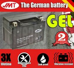 Jmt Gel Battery - Ytx9-bs For Suzuki Scooters