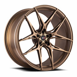 20 Savini Sv-f5 Bronze 20x9 20x11 Forged Concave Wheels Rims Fits Ford Mustang
