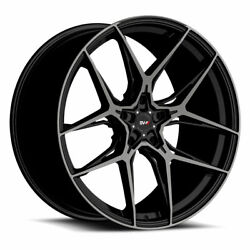 20 Savini Sv-f5 Black 20x10 20x10 Forged Concave Wheels Rims Fits Ford Mustang
