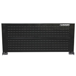 46 in. Pegboard Back Wall for Tool Cabinet Workbench Work Bench Peg Board