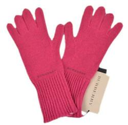 New Fuschia Pink Cashmere Blend Knitted Texting Touch Mittens Gloves