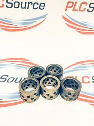 Sankyo Oilless 25-19 Self-lubricating Brass Bushings 1andrsquoandrsquo D 3/4andrsquoand039 H 5-pack