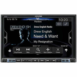 Alpine X308u 8 Double Din Apple Carplay Android Auto Navigation Car Receiver