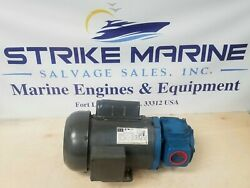 Weg 00118es1bd56 Electric Motor With Tuthill Ccl102017 Rotary Gear Pump